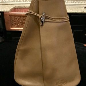 Longchamp NWOT messenger sling bag